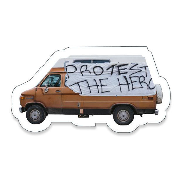 Protest The Hero - Classic Van - Vinyl Sticker