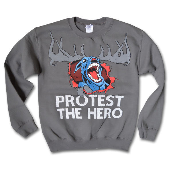 PROTEST THE HERO - Winter Sweater - Charcoal