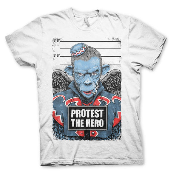 PROTEST THE HERO - Monkey - White T-Shirt