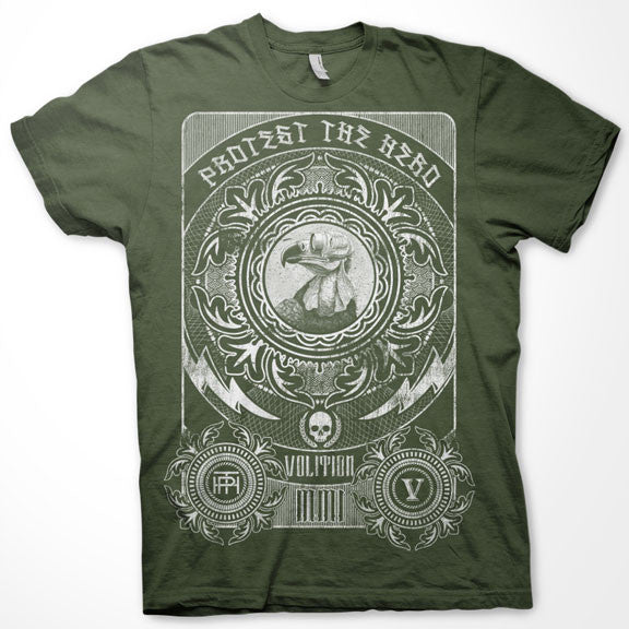 PROTEST THE HERO Volition Military Green T-Shirt
