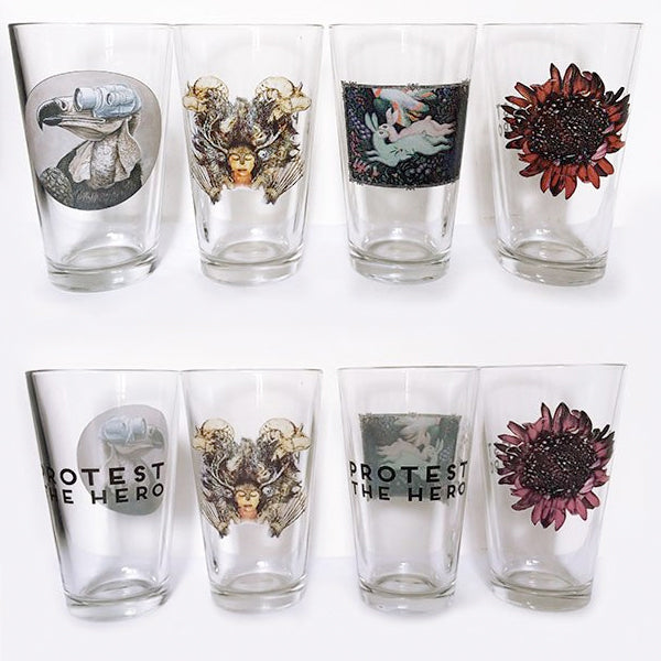 PROTEST THE HERO Pint Glasses