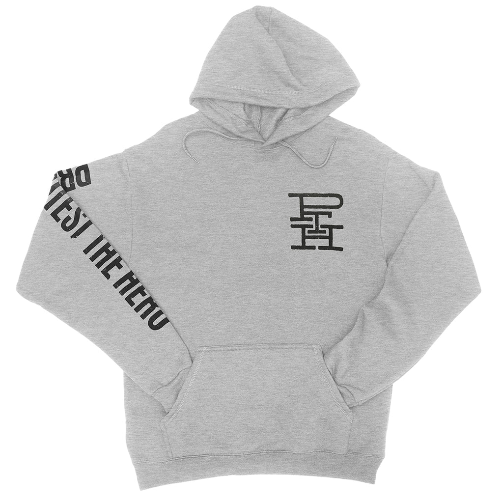 PROTEST THE HERO - Logo - Athletic Heather Pullover Hoodie