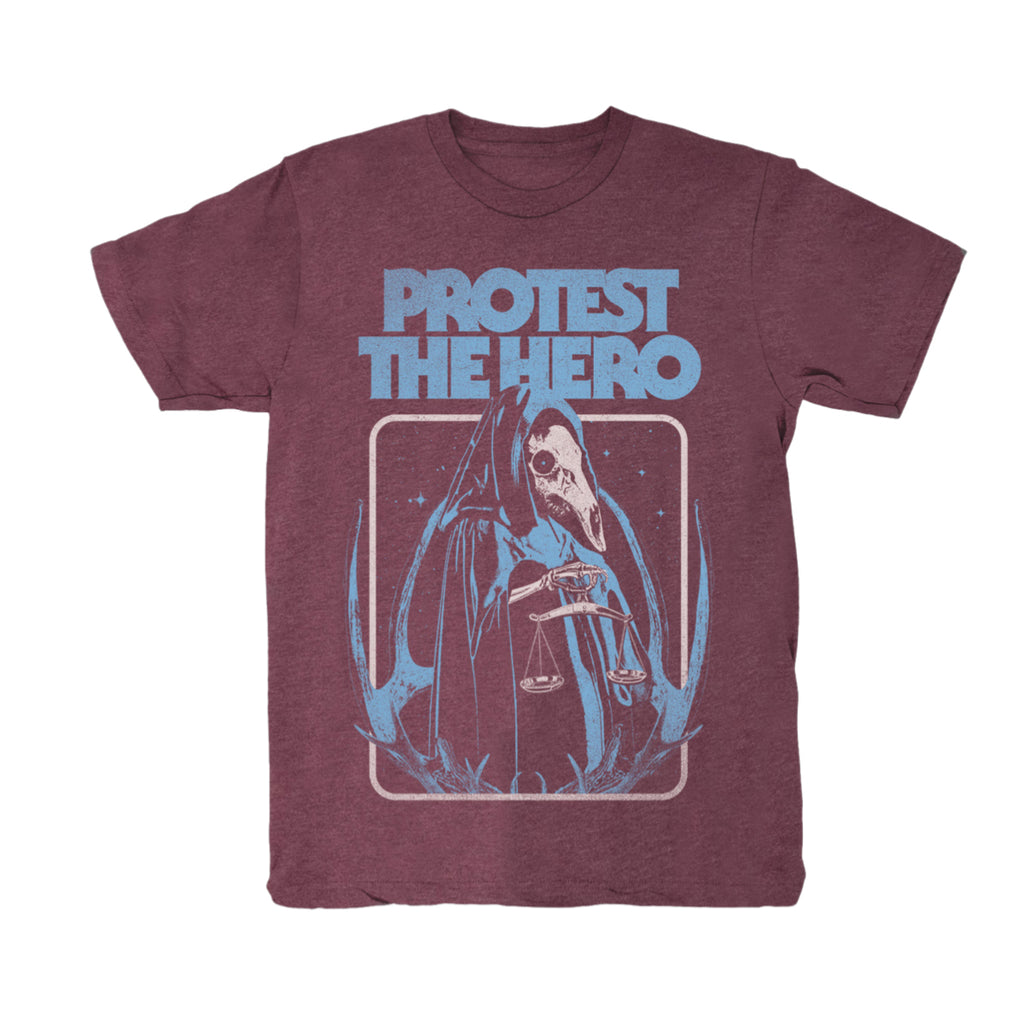 PROTEST THE HERO - Justice - Heather Red Tee