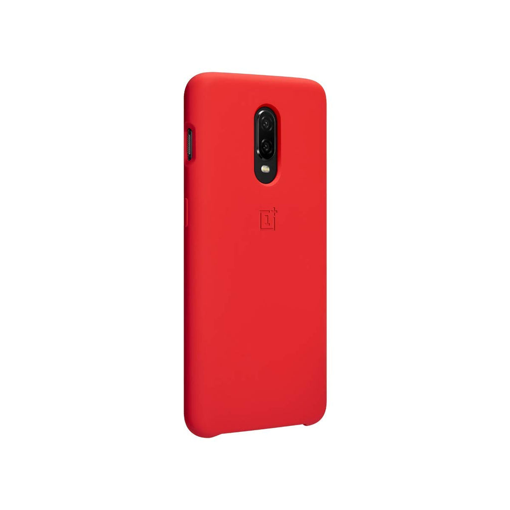 Oneplus 6T Official Bumper Protective Case (Silicone)