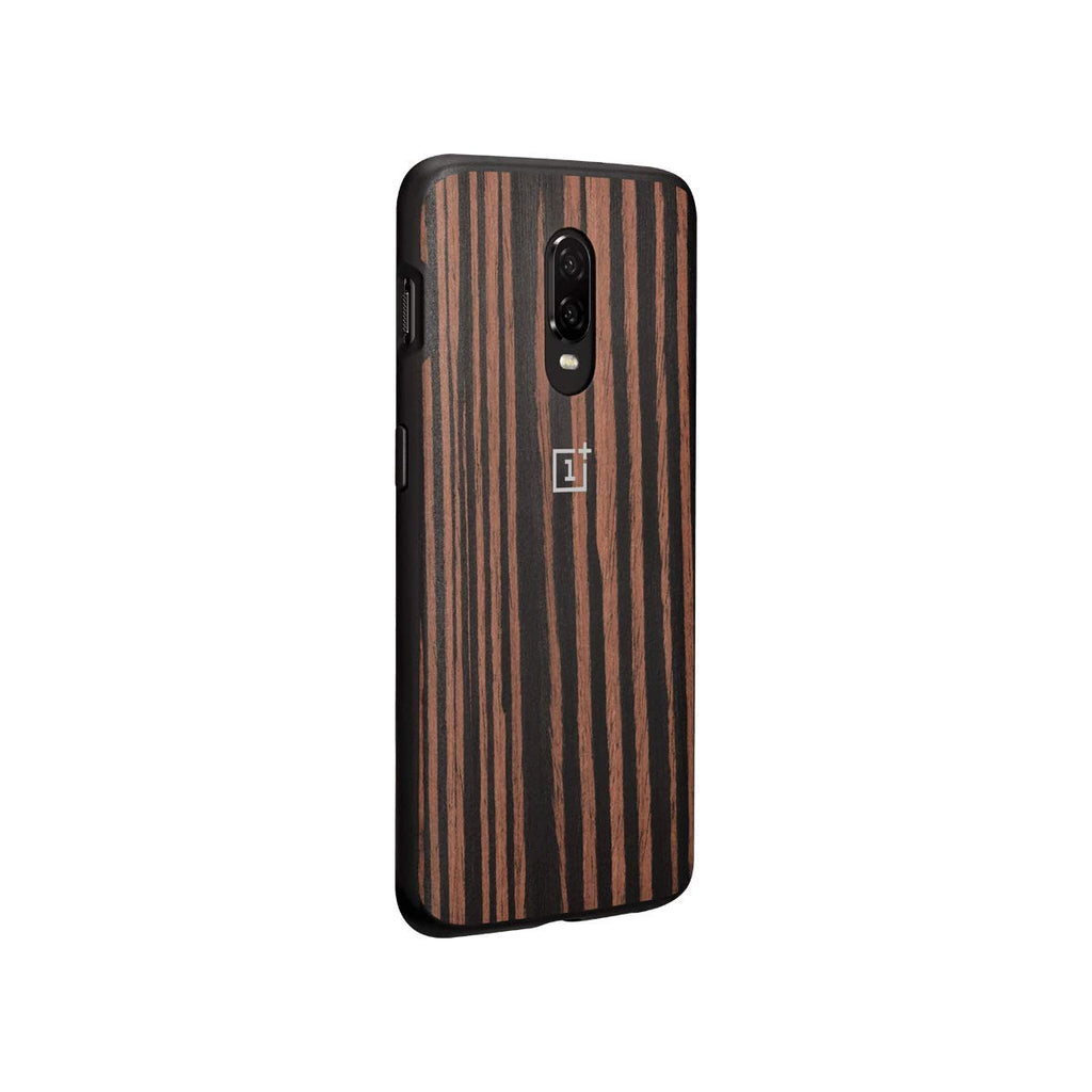 Oneplus 6T Official Bumper Protective Case (Wood)
