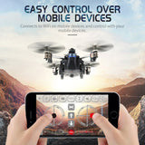 JJRC H40WH 2.4G 4CH 6 Axis Wifi Hover RC Quadcopter Drone Tank w/ 720P Camera