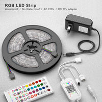 Bluetooth 5050 LED Strip Light RGB SMD 2835 Flexible Ribbon