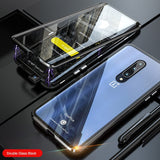 Full Protective Magnetic Metal Bumper For Oneplus 7 7T 8 Pro 6T 6