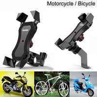 Motorcycle Bicycle Moto Bike Phone Holder Mount Clip for Mobile CellPhone
