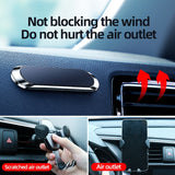 Magnetic Car Phone Holder Universal Paste Holder Stand For iPhone Samsung Xiaomi Huawei