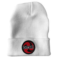 DATSIK - Patch Beanie - White