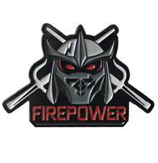Firepower - Ninja Villain - Lapel Pin