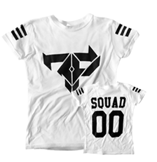 Firepower - FP Squad T-Shirt - GIRLS White