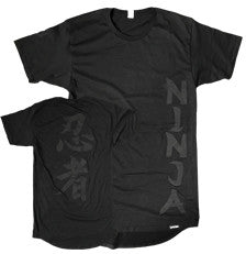 DATSIK - Stealth Ninja - Long Tee - Black