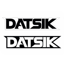 DATSIK - DATSIK 6 Inch Stickers (3 for $5)