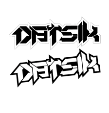 DATSIK - Die Cut Vinyl Sticker