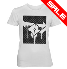Firepower - FPLV - LADIES White T-Shirt