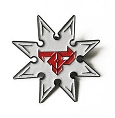 Firepower - Ninja Star - Lapel Pin