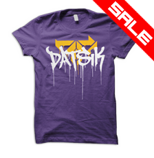 DATSIK Firepower Drip GIRLS T-Shirt - Purple