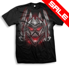 DATSIK - Firepower Decepticon - T-Shirt - Black