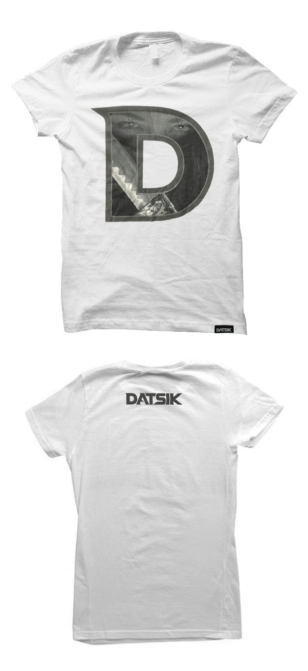 DATSIK - Ninja D - LADIES White T-Shirt