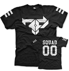 Firepower - FP Squad T-Shirt - Black