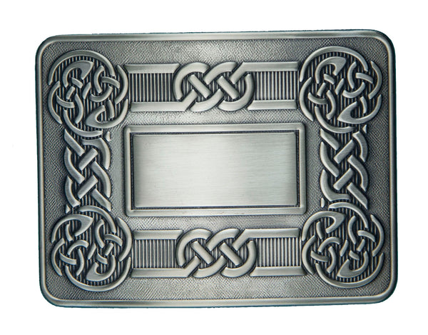 Celtic Swirl Belt Buckle