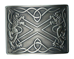 Highland Saltire Belt Buckle