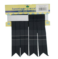 Hamilton Grey Tartan Flashes