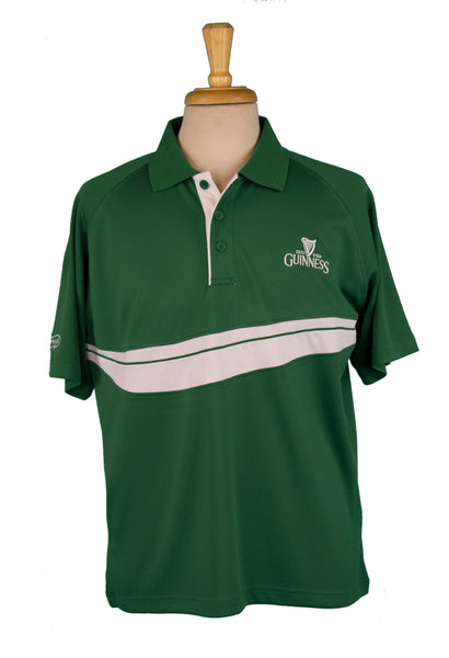 Guinness Green Golf Performance Polo