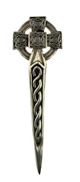 Celtic Cross Kilt Pin