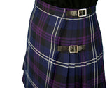Ladies Heritage of Scotland Polyviscose Knee Length Kilt