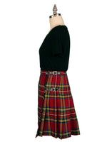 Ladies Royal Stewart Polyviscose Knee Length Kilt