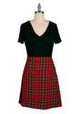 Ladies Royal Stewart Wool Knee Length Kilt