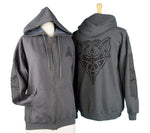 Celtic Dragon Jacket - Tweed Grey