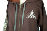 Celtic Dragon Jacket - Russet