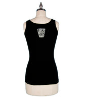 """Scottish Whisky Girl"" Tank Top - Black"