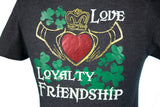 """Claddagh"" V-neck T-shirt"