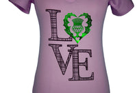 """Love Scotland"" V-neck T-shirt"