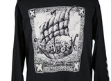 """Viking Ship"" Long Sleeve T-shirt"