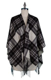 Stewart Grey Dress Mini Cape