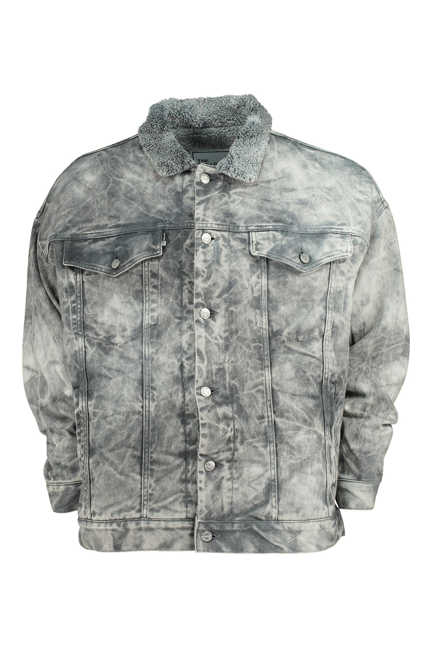 The Shearline jacket Man Acid Wash