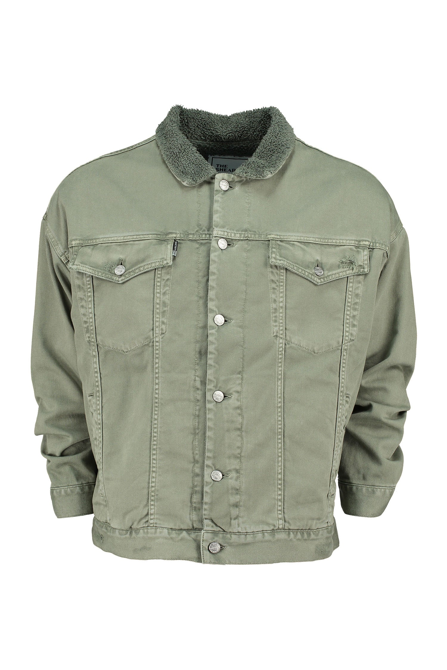 The Shearline Jacket Man Green