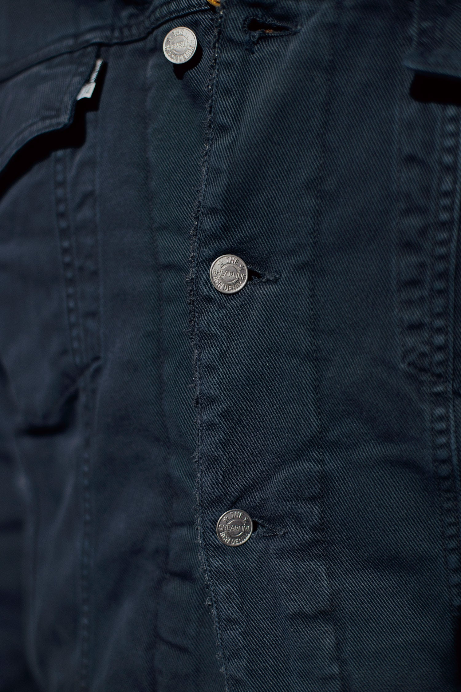 The Shearline jacket Man Navy