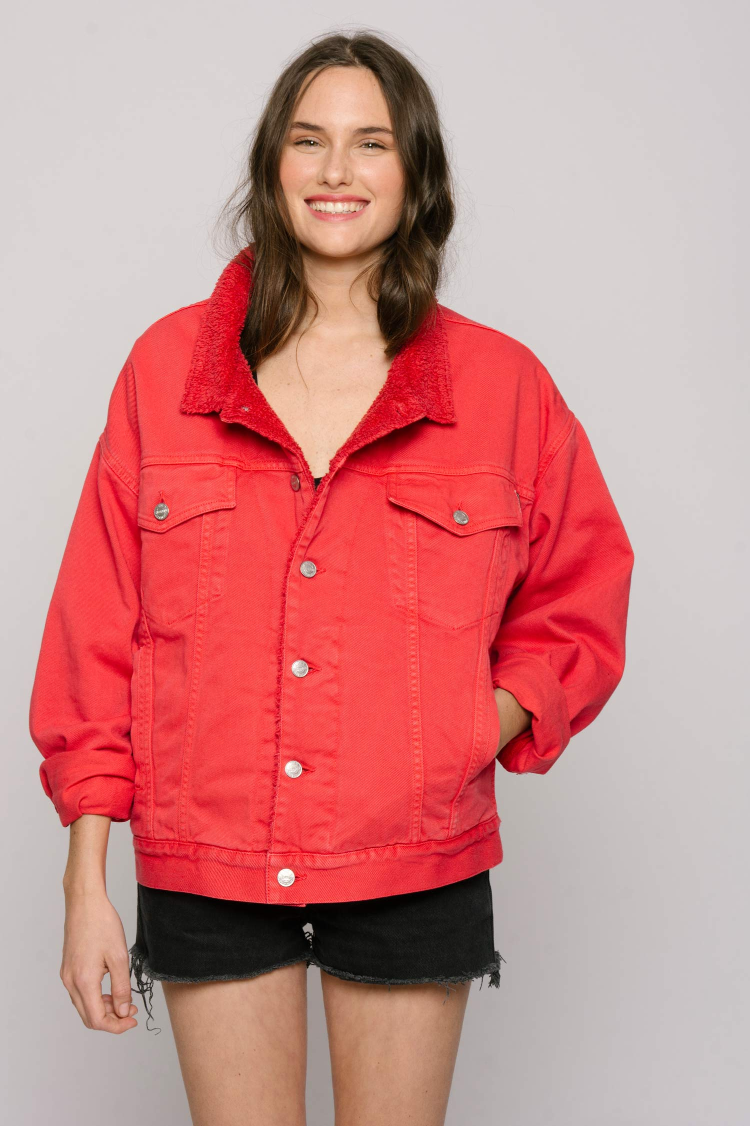 The Shearline Jacket Woman The Red Ink