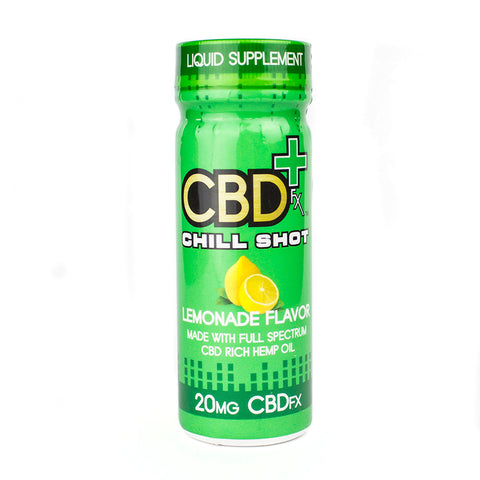 CBDfx Lemonade Chill Shot 20mg CBD
