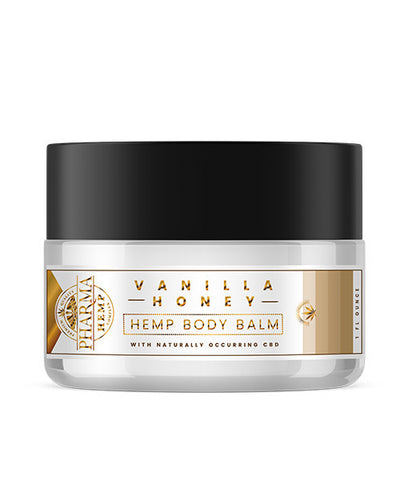 Hemp CBD Vanilla Honey Body Balm (50mg CBD) - Hemp101