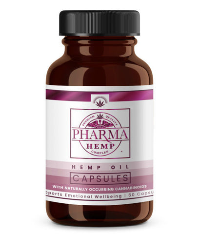 Hemp Pharma CBD Nutritional Capsules - Hemp101