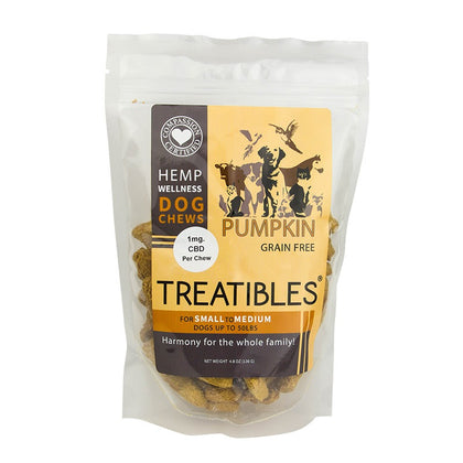 Treatibles: CBD Dog Treat Chews - Hemp101
