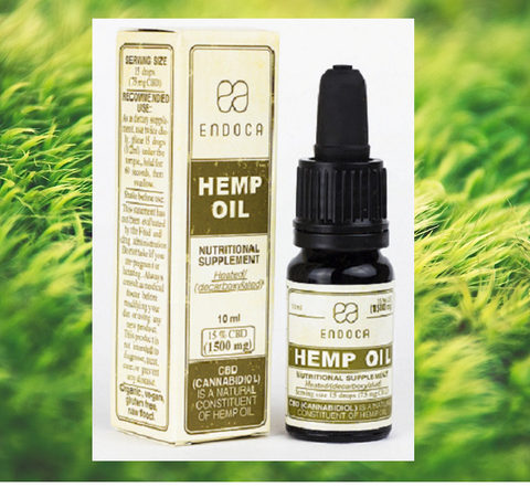 Endoca Hemp CBD Oil - (300mg -1500mg CBD) - Hemp101